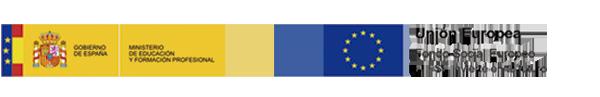 Logos Gobierno de España - Fondo Social Europeo